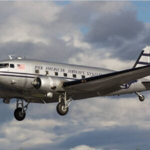 DC-3 Landing - Credit to Liz Matzelle