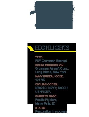 Highlights F8F Grumman Bearcat