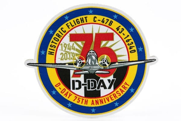 D-Day 75th anniversary patch