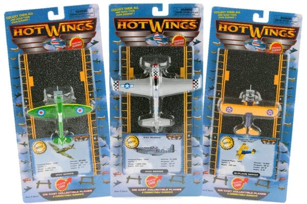 Hot Wings toy airplanes