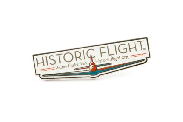 Historic Flight pin